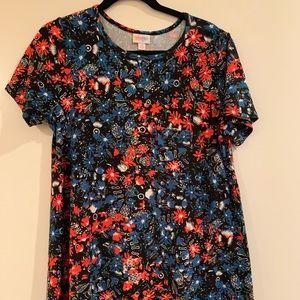 Legging Material Floral Carly Dress